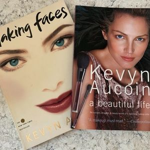 Bundle of 2 Kevyn Aucoin Books